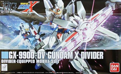 Bandai HGUC 118 Gundam GX-9900-DV Gundam X DIVIDER 1/144 Scale Kit