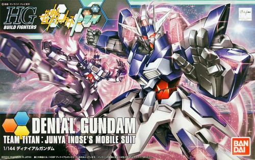 Bandai HG Build Fighters 037 Gundam DENIAL Gundam 1/144 Scale Kit
