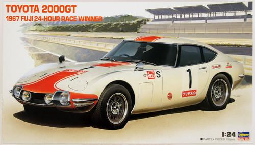 Hasegawa HR01 Toyota 2000GT 1967 Fuji 24-hour Race Winner 1/24 Scale Kit