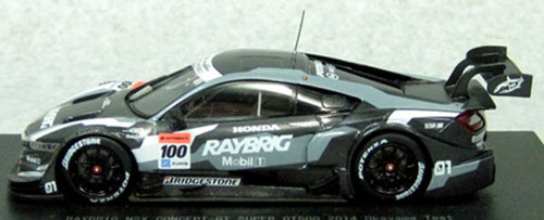 Ebbro 45091 RAYBRIG NSX CONCEPT-GT SGT500 2014 Okayama Test No.100 1/43 Scale