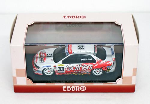 Ebbro 45135 Gathers ACCORD JTCC 1997 No.33 White 1/43 Scale