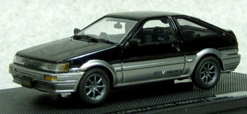 Ebbro 45187 Corolla Levin 1600 GTV with alloy wheel Black/Silver 1/43 Scale