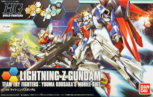Bandai HG Build Fighters 040 LIGHTNING Z Gundam 1/144 Scale Kit