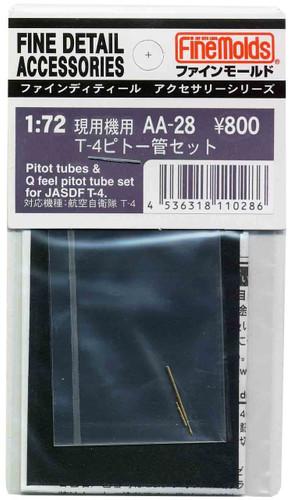 Fine Molds AA28 Pitot Tubes & Q Feel Pitot Tube Set for JASDF T-4 1/72 Scale Kit