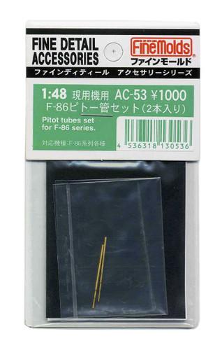 Fine Molds AC-56 Pitot Tube, AOA & Q Feel Pitot Tube Set for JASDF T-41 /48 Scale Kit
