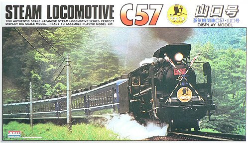 Arii 956014 Japanese Steam Locomotive Type C57 1/50 Scale Kit (Microace)