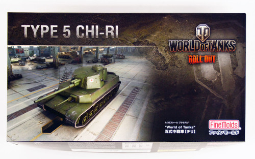 Fine Molds 240037 World of Tanks Type 5 CHI-RI 1/35 Scale Kit