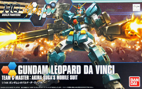 Bandai HG Build Fighters 042 Gundam LEOPARD DA VINCI 1/144 Scale Kit