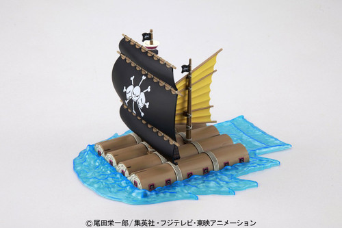 Bandai One Piece Grand Ship Collection 006374 Marshall D. Teach's Pirate Ship