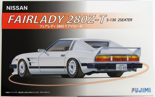 Fujimi ID-139 Nissan Fairlady 280Z-T S-130 2 Seater 1/24 Scale Kit 039411