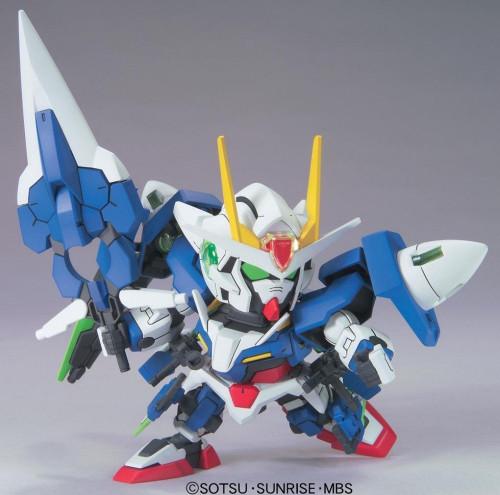 Bandai SD BB 368 Gundam OO Gundam Seven Sword/G Plastic Model Kit