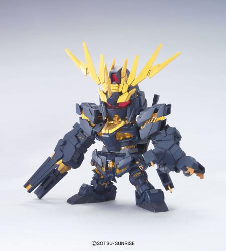Bandai SD BB 380 Gundam RX-0 Unicorn Gundam 02 Banshee Plastic Model Kit