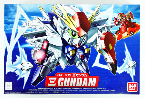 Bandai SD BB 386 Gundam RX-105 Xi Gundam Plastic Model Kit