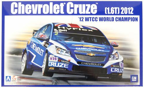 Aoshima 82997 Chevrolet Cruze (1.6T) 2012 WTCC World Champion 1/24 Scale Kit