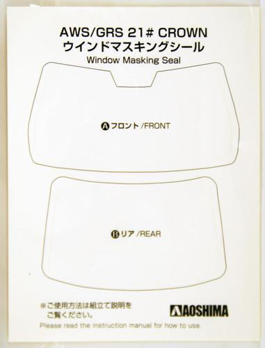Aoshima 08522 Rojam 21 Toyota Crown Royal Saloon Kiwami 1/24 Scale Kit