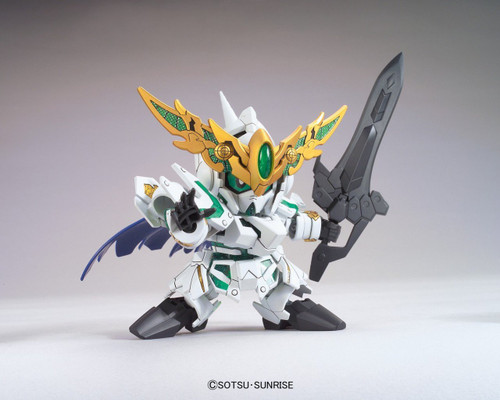 Bandai SD BB 385 Gundam Knight Unicorn Gundam Plastic Model Kit