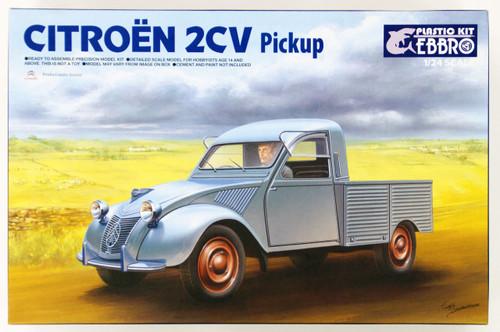 Ebbro 25004 Citroen 2CV Pickup 1/24 Scale plastic model Kit