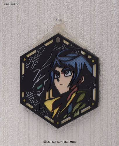 Bandai Iron-Blooded Orphans Character Stand Plate 01 MIKAZUKI AUGUS