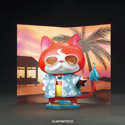 Bandai Yo-Kai Watch 044840 JIBANYAN WAIHA (Hawaii) Version Plastic Model Kit