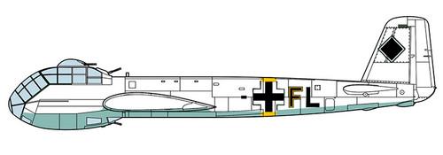 Hasegawa 02180 Junkers Ju188F Long Range Recon. Plane 1/72 Scale convertible Kit