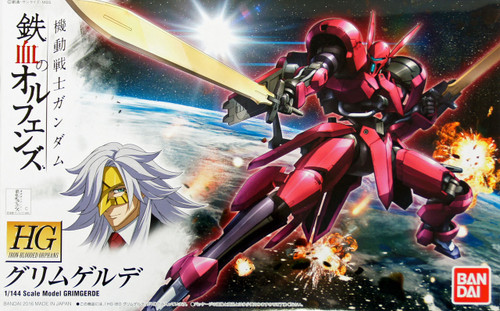 Bandai Iron-Blooded Orphans 014 Gundam Grimgerde 1/144 Scale Kit