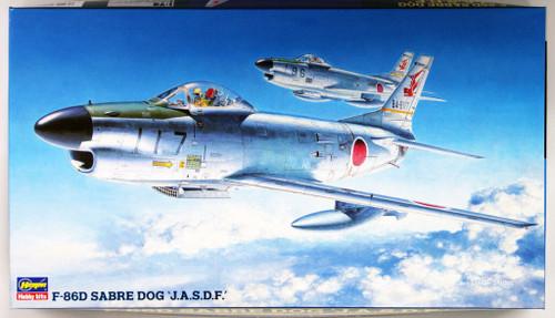 Hasegawa BP4 F-86D Sabre Dog J.A.S.D.F 1/72 Scale Kit