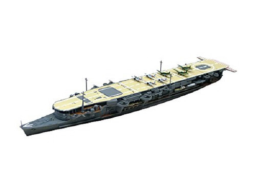 Aoshima Waterline 12352 IJN Light Aircraft Carrier Ryujo with Photo Etched Parts 1/700 Scale Kit