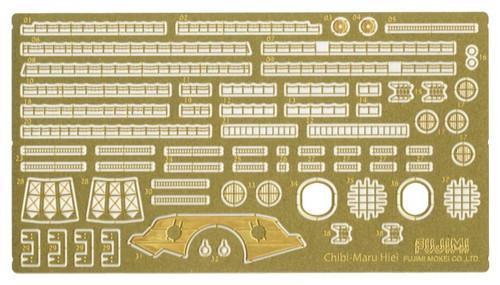 Fujimi TK 114682 Photo Etched Parts Chibi-maru Kantai Fleet Battle Ship Hiei