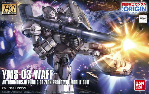 Bandai Gundam The Origin 008 YMS-03 WAFF 1/144 Scale Kit