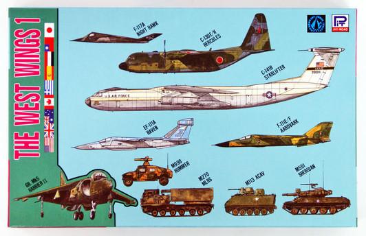 F-35A // *Pit road 1//700 Sky Wave Series Self-Defense Forces aircraft set 1 X-2