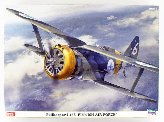 Hasegawa 08254-1//32 Polikarpov I-16 Neu Finish Air Force