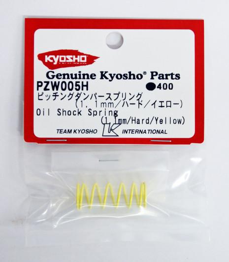 KYOSHO PZW004S Side Spring PLAZMA 0.45 mm // soft // red