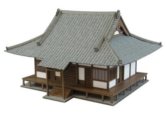 Sankei MK05-15 Temple Shrine 1//87 HO Scale