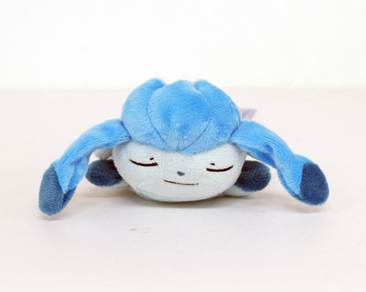 Pokemon Center Original Plush Doll Sleeping Glaceon 4521329221106 Glacia