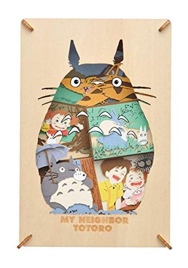 Castle in the Sky Studio Ghibli PAPER THEATER Wood Style TIGER MOTH Laputa