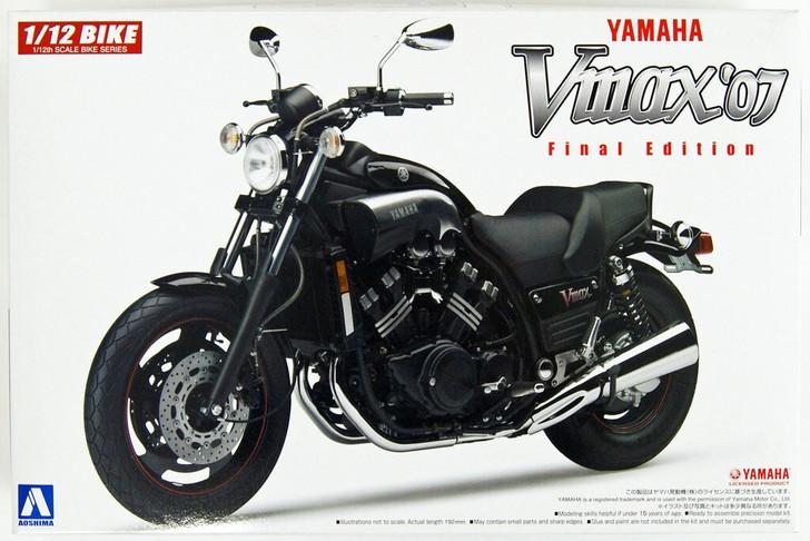 Aoshima Naked Bike 08 YAMAHA V-Max '07 1/12 Scale Kit