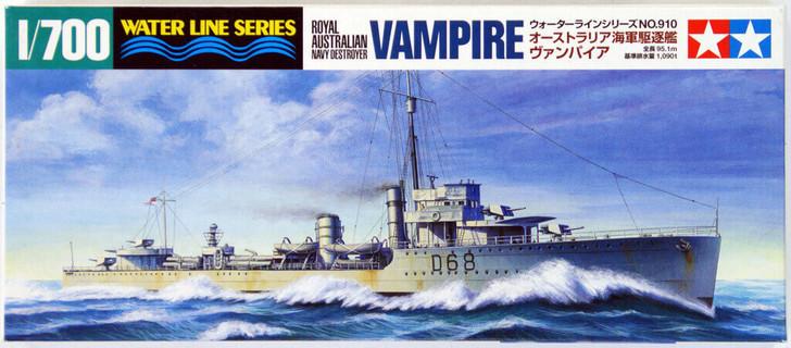 Tamiya /'Vampire/' Royal Australian Navy Destroyer 1:700 31910