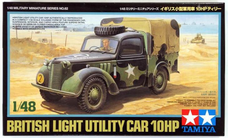 TAMIYA 32562 British Small Staff Car 10HP 1:48 Military Model Kit
