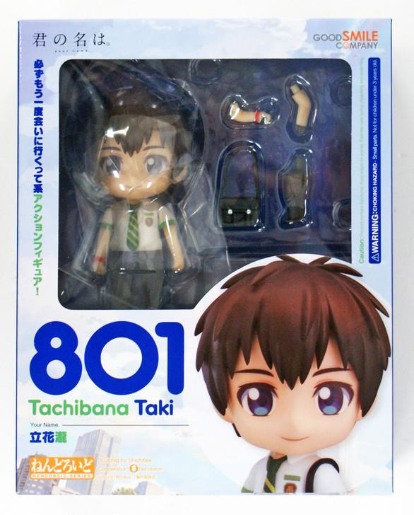 Taki Tachibana Nendoroid Action Figure # 801 Good Smile Company YOUR NAME