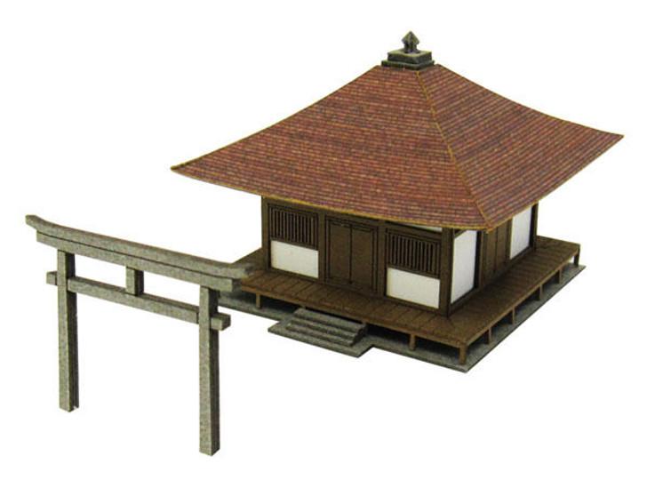 Sankei MP01-89 Noodle Shop 1//220 Z scale Soba