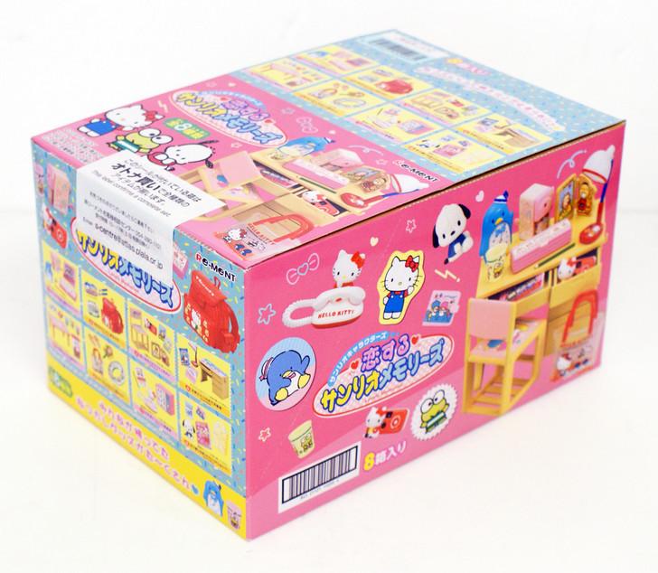 Re-ment Sanrio Lovely Memories Miniature Figure Full set 8 packs Hello Kitty JP