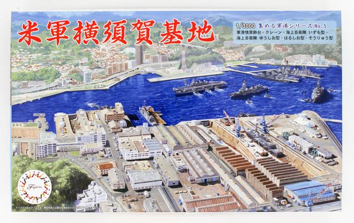 Fujimi Gunko 01 401294 Yokosuka Naval Port 1//3000 scale kit