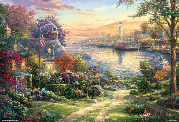 Beverly Jigsaw Puzzle 31-491 Thomas Kinkade New England Harbor (1000 Pieces)