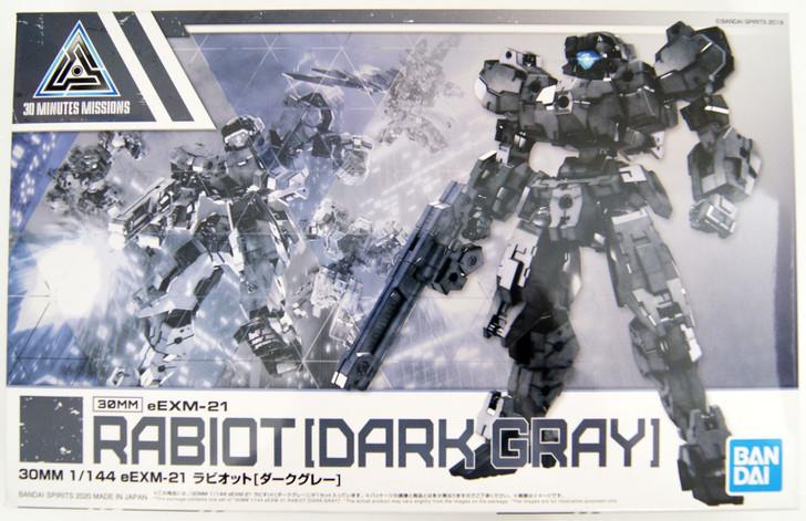 Bandai 30 Minutes Missions 25 (30MM) eEXM-21 Rabiot (Dark Gray) 1/144 Scale Kit