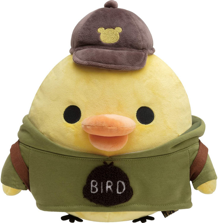 Details about  /San-X Rilakkuma Costume for Plush Doll Yellow Bird Poncho Japan