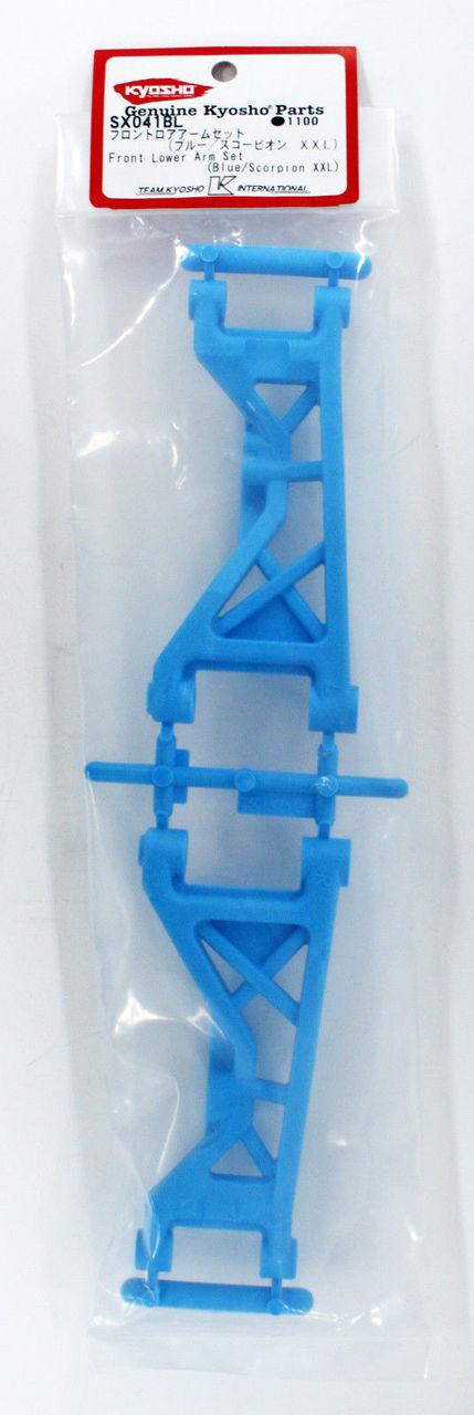 Blue//Scorpion XXL Kyosho SX041BL Front Lower Arm Set