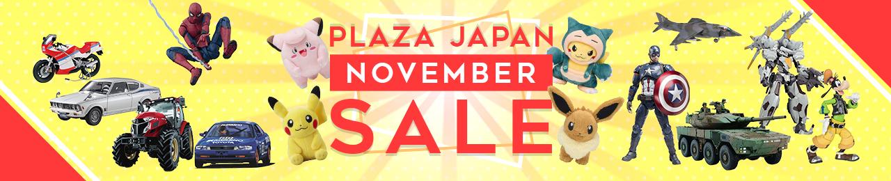 Plaza Japan November Sale