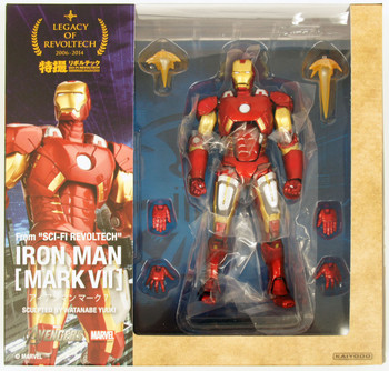 Legacy of Revoltech Iron Man Action Figure LR-041 Mark VII