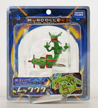 Takara Tomy Pokemon Moncolle EX EX EHP/_10 Rayquaza JAPAN OFFICIAL IMPORT