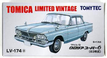 Tomica Limited Vintage LV-174d NISSAN PRINCE GLORIA SUPER 6 66/' 1//64 Tomytec